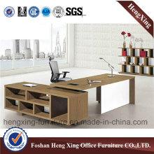 1.8m Melamine L Shape Executive CEO Office Desk (HX-5DE188)