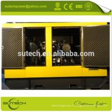 Générateur de moteur diesel super silencieux de 80kw 1104C-44TAG2 Perkin avec l'alternateur de Stamford