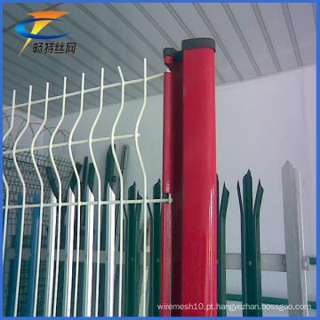 Venda quente de cerca galvanizada ou revestida de PVC