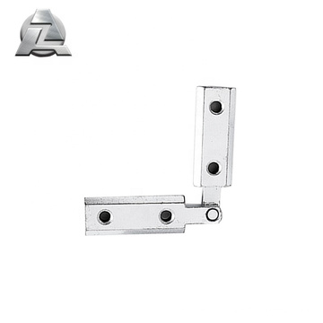 wholesale simple any angle connector aluminium profile accessories