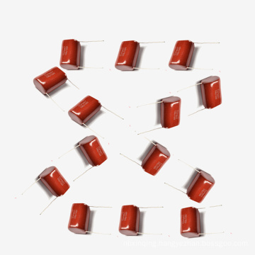 Metallized Polyester Film Capacitor Mkt-Cl21 15UF 5% 100V for IC of Meters