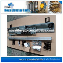 2 Panels Center/Side Opening Elevator Landing Door/Door Operator, VVVF Mitsubishi Type
