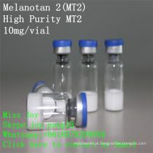 Mt2 alta pureza 10 mg Melanotan 2 Peptide Melanotan II Mt-2 super discreta embalagem segura transporte