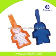 Cute plastic custom cheap cheap baggage tag