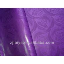 Наличии 10 ярдов/мешок Гвинея brocade 100% хлопок базен riche дамасской Африканская ткань фиолетовый 2014 новое поступление текстиля promoton