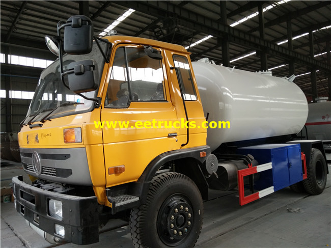 10m3 Dongfeng Propane Road Tankers