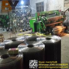Malha de arame soldada em aço inoxidável galvanizado revestido de PVC