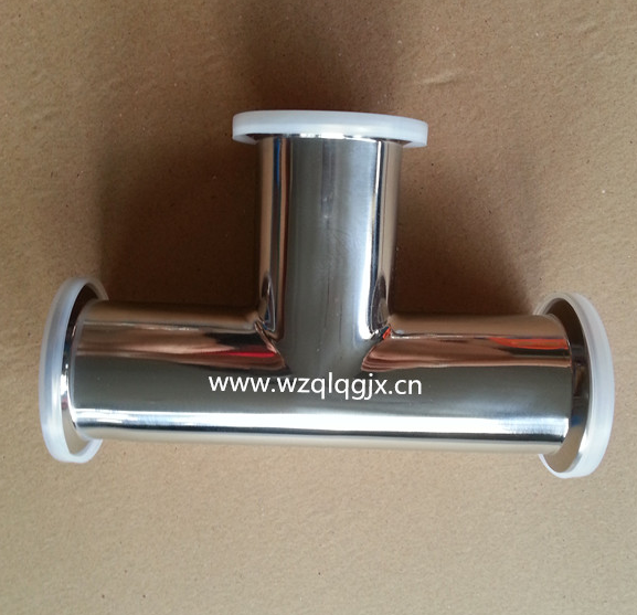 304 / 316L Sanitary Stainless Steel Clamp Tee