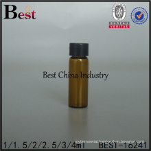 2.5 ml bottle glass with screw cap