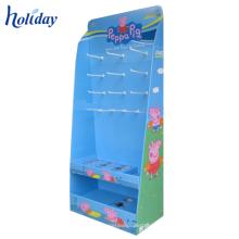 Novo Design de Alta Qualidade Preço Operável Cartão Funko Pop Display Stand, Exibição de Material de papel Para Funko