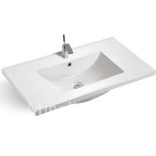 Good design popular thin cabinet ceramic basin