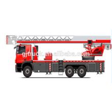 camión de la escalera aérea de la lucha contra el fuego / camión de la lucha contra el fuego / camión de bomberos de la escalera aérea / plataforma de aire / camión de bomberos hidráulico de la escalera