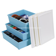 3PCS Underwear Bra Socks Ties Divider Storage box Set