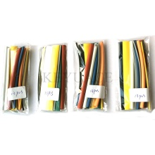 Kit de tube thermorétractable de couleurs minces pour mur de 13PCS