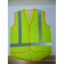 Reflective Safety Vest with Extended Tail