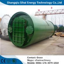 Reciclagem de Pneus Usados para Nova Máquina de Energia
