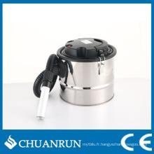 Aspirateur de cendres en acier inoxydable 15L en acier inoxydable pour poêles à granulés