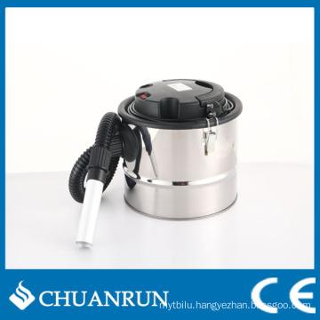 15L Stainless Steel Barrel Ash Vacuum Cleaner for Pellet Stoves