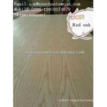 MDR contreplaqué de placage-Red Oak