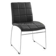 Leisure Chrome Leg Faux Leather Chair Without Armrest (SP-LC277)