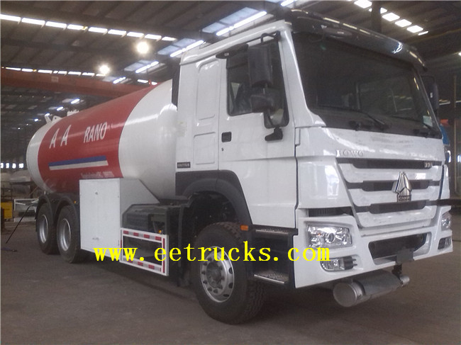 24000 Liters LPG Filling Trucks with Dispenser
