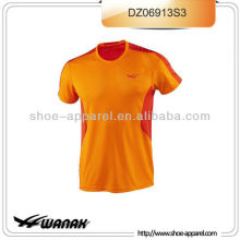 Custom 100% polyester running shirt for men,running t-shirts,