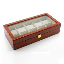 Hx-A0745 Watch Box (10 Watches) - Extra Wide
