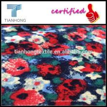 Printed brushed twill fabrics/100% cotton printed twill fabric/indonesia cotton printed fabric