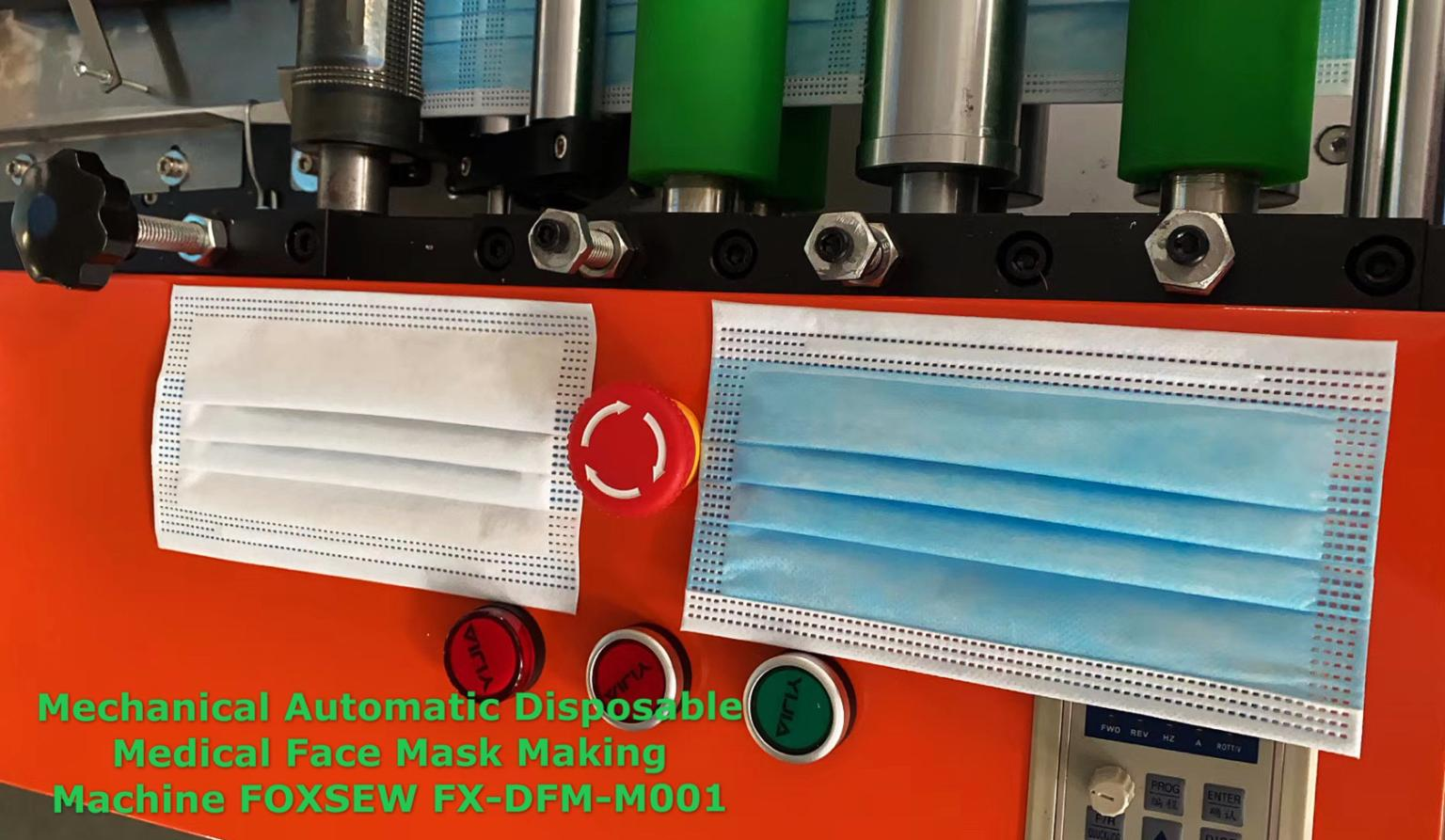 Mechnical Automatic Disposable Medical Face Mask Making Machine -1