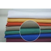 Vario Color de la tela cruzada del poliester del algodón de ropa de trabajo