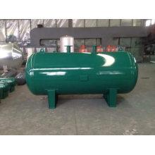 Horizontaler Hochdruckbehälter aus rostfreiem Stahl