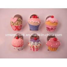 Poly Resin Cake Decor Magnetic Paper Clip