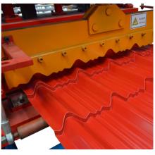 Step glazed tile steel roll formers machine