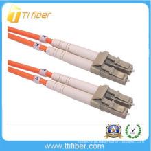 LC / UPC multimodo fibra duplex Conector óptico