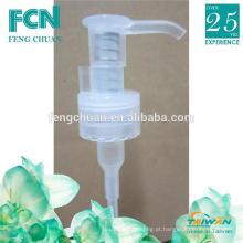 Limpar 10ml plástico PP primavera cosmética loção dispensador de sabão bomba 24/410