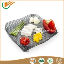 high Temperature resistance washable non stick teflon coated BBQ baking cooking mesh