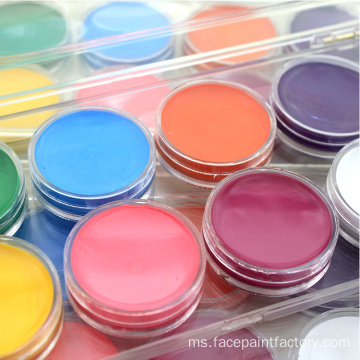 Waterbased Non-Toxic NEON Color UV Glow Face Paint