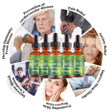Organic 100% Natural Plant Extracts Anti Aging Facial Repairing Pain Relief Hemp Seed Cbd Oil
