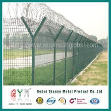 Malla de valla protectora de aeropuerto ferroviario de alta calidad