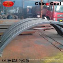 Archet de poutre en acier de minerai de minerai de minerai pour le support de tunnel