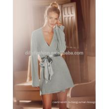 Супер мягкий 100% кашемир трикотажные пижамы женщин