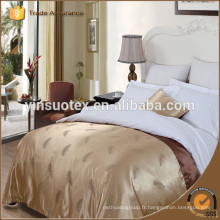 Feuillet de chambre d'hôtel, Hot 100% cotton Bed Sheet Bed