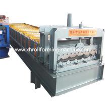 Farbe Stahl Bedachung Blatt glasiert Fliesen Roll Umformmaschine