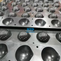 Máquina de máscara de copa N95 semiautomática para formación de copa