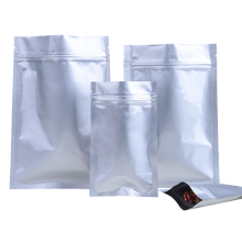 Resealable Aluminum Foil Ziplock Packaging Bags