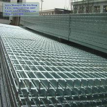 Rejilla de barra plana galvanizada por inmersión en caliente, rejilla de barra galvanizada, rejilla de barra de metal galvanizada