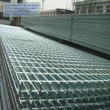 Grille à barre plate galvanisée à chaud, grille à barres galvanisées, grille à barres métalliques galvanisées