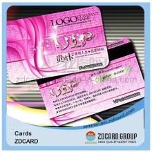 Cmyk Druckbare Plastik PVC Geschenkkarte