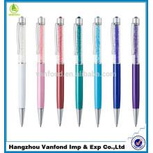 Высокое качество подгонять продвижение металлическая ручка/реклама хрустальный шар перо