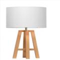 Weiße LED Tischleuchte